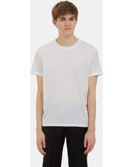 Men's Nadal Round Neck T-shirt In White