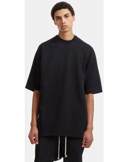 Jumbo Crew Neck T-shirt In Black