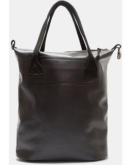 Void Waterproof Tote Bag In Black