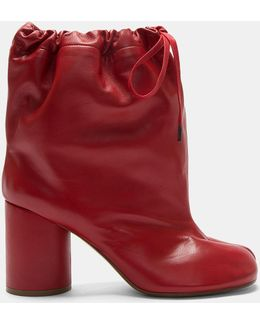 Oversized Tabi Ankle Boots