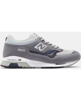 Men's 1500 Uk Leather Sneakers In Grey