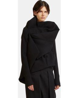 Guimard Draped Jacket In Black