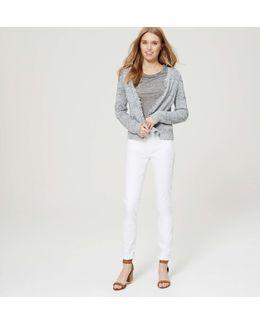 Tall Modern Skinny Jeans In White