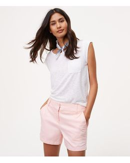 "Petite Riviera Shorts With 4"" Inseam"