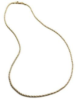 14k Two-tone Gold Chain