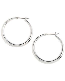 Small Donut Hoop Earrings