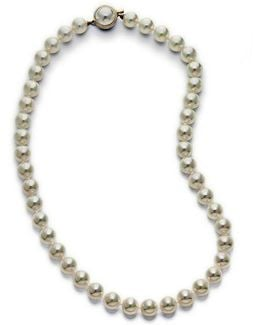 Organic Man-made Pearl Necklace