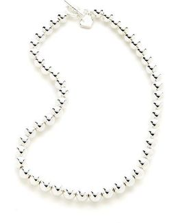 Mirrored Bead Necklace