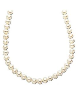 14 Kt. Yellow Gold Freshwater Pearl Strand Necklace