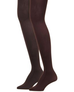 Opaque Microfiber Tights