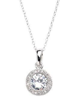 3d Circular Pendant Necklace
