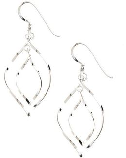 Sterling Silver Double Drop Earrings
