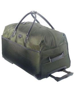 28-inch Rolling Duffel Bag/brown
