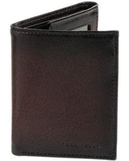 Leather Slim Trifold Wallet