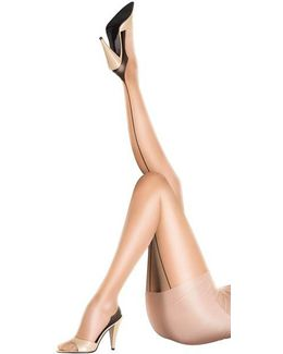Sheer Gloss Back Seam Tights