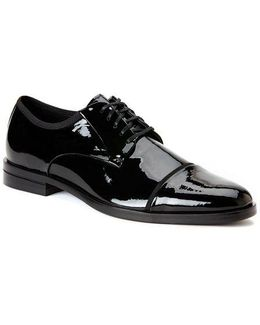 Kedrick Patent Leather Derby Shoes