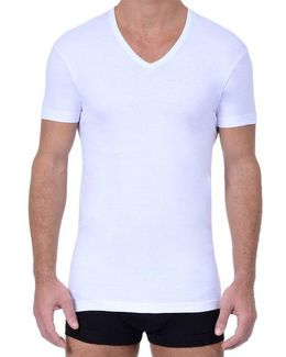 3 Pack Essential Slim Fit V-neck T-shirt