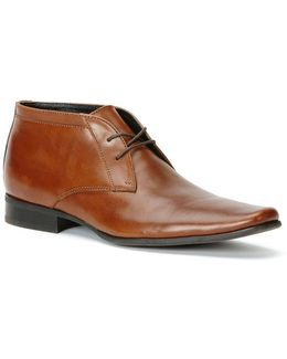 Ballard Leather Chukkas