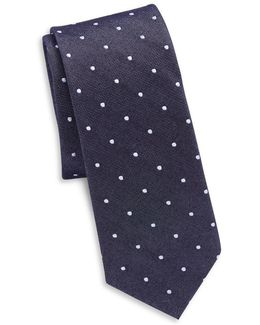 Silk And Cotton Tie