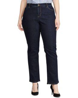 Plus Super-stretch Heritage Straight Jeans