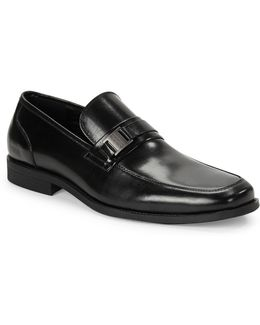 Bottoms Up Leather Loafers