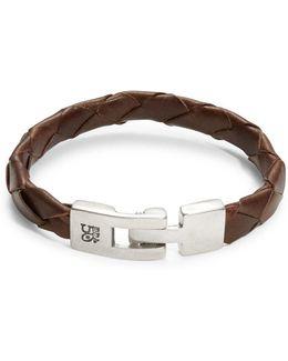 Culebron Braided Leather Bracelet
