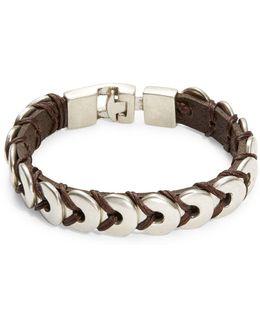 Donut Leather Bracelet