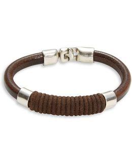 Camisa De Fuerza Leather Bracelet