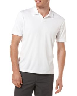 Big And Tall Open Placket Polo