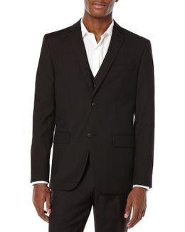 Slim Fit Textured Party Suit Jacket