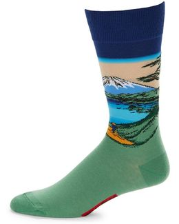 Mt. Fuji Lake Socks
