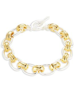 Cable Chain Toggle Bracelet