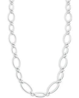 Oval Link Necklace