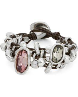 Chica Mermelada Rhinestone Toggle Bracelet