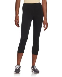 Strappy Cropped Leggings