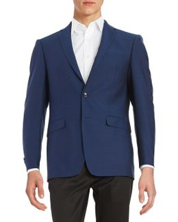 Extreme Slim-fit Two-button Wool Jacket