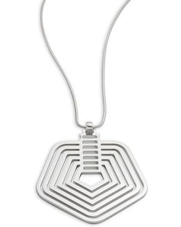 Stack Pendant Necklace