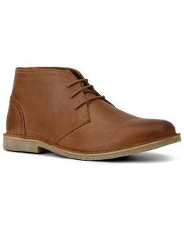 Walden Leather Lace-up Chukka Boots