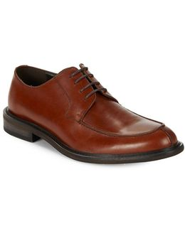 Account-ant Leather Derby Shoes