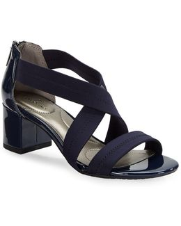 Sholto Cross-strap Sandals