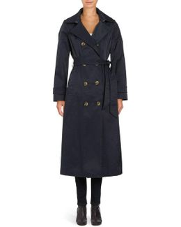 Tailored-fit Double-breasted Trench Coat