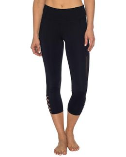 Bodycon-fit Cropped Leggings