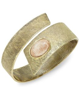 Tanta Stone Accented Textured Cuff