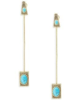 Tanta Linear Statement Earrings