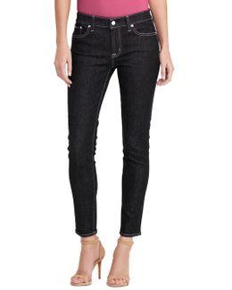 Skin-fit Five-pocket Jeans