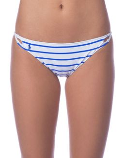 Striped Hipster Bikini Bottom