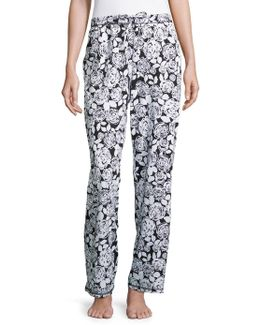 Patterned Lounge Pants