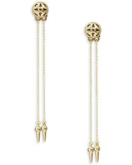Ayita Drop Earrings- Gold