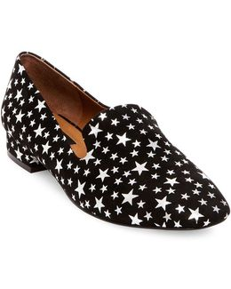 Sammy Star Printed Loafers