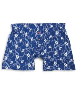 Floral Knit Boxers